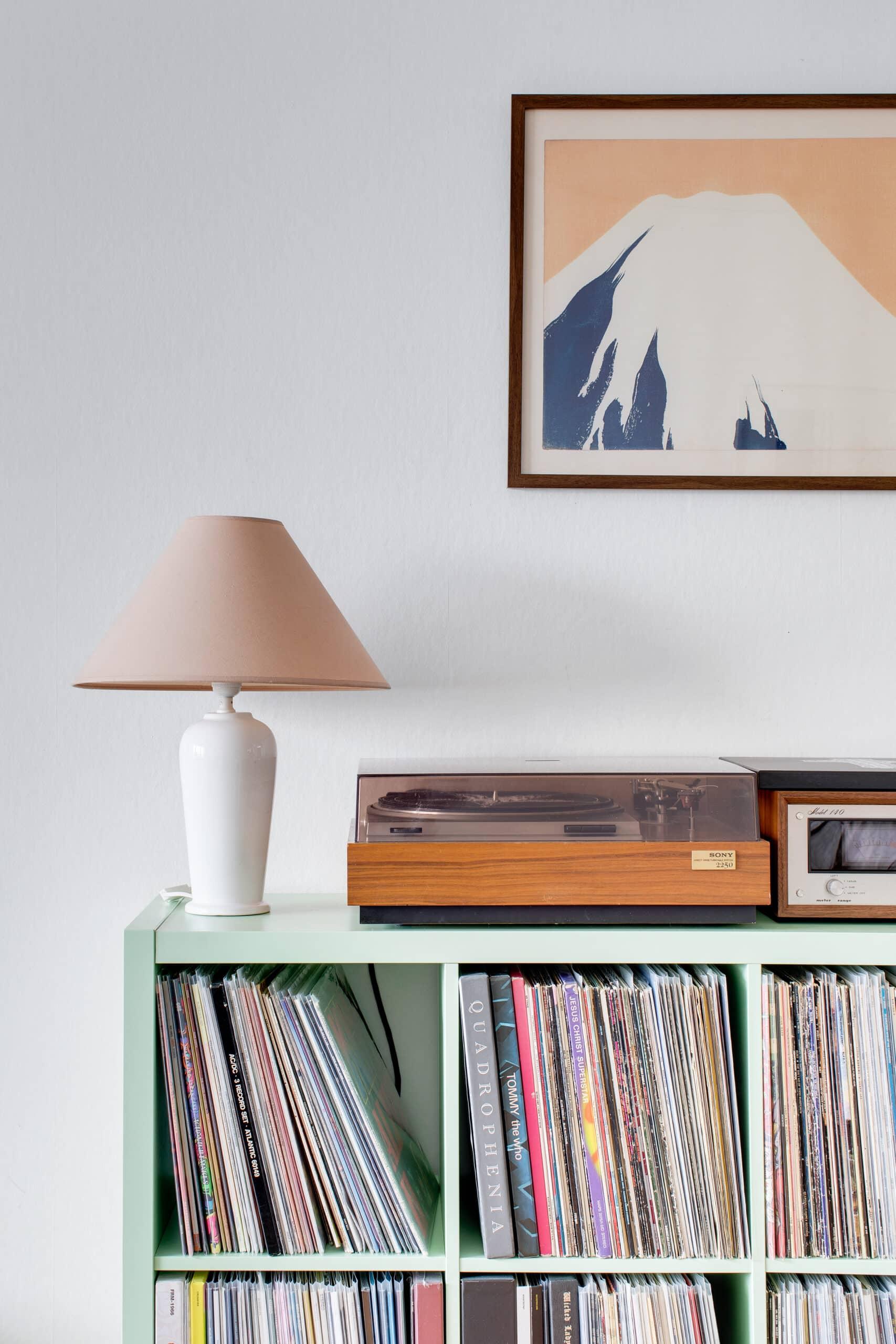 Vinylspelare, Fänkålsgatan